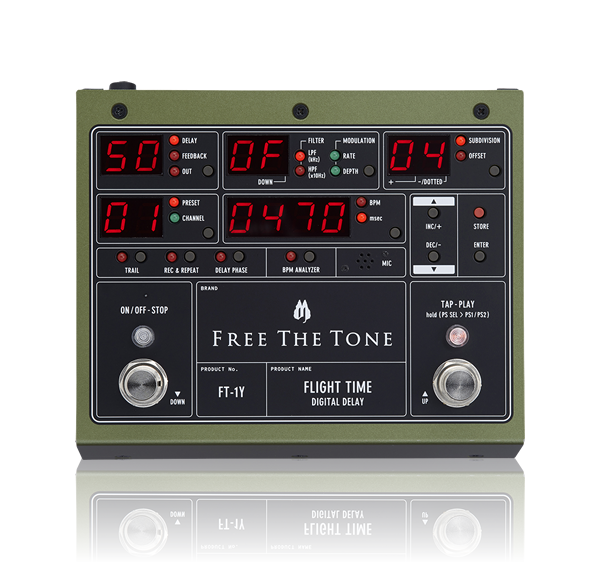 FLIGHT TIME FT-1Y|PRODUCTS|Free The Tone
